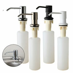 Merveilleux Image Is Loading Deck Mounted Kitchen Sink Liquid Soap Dispenser Bottle