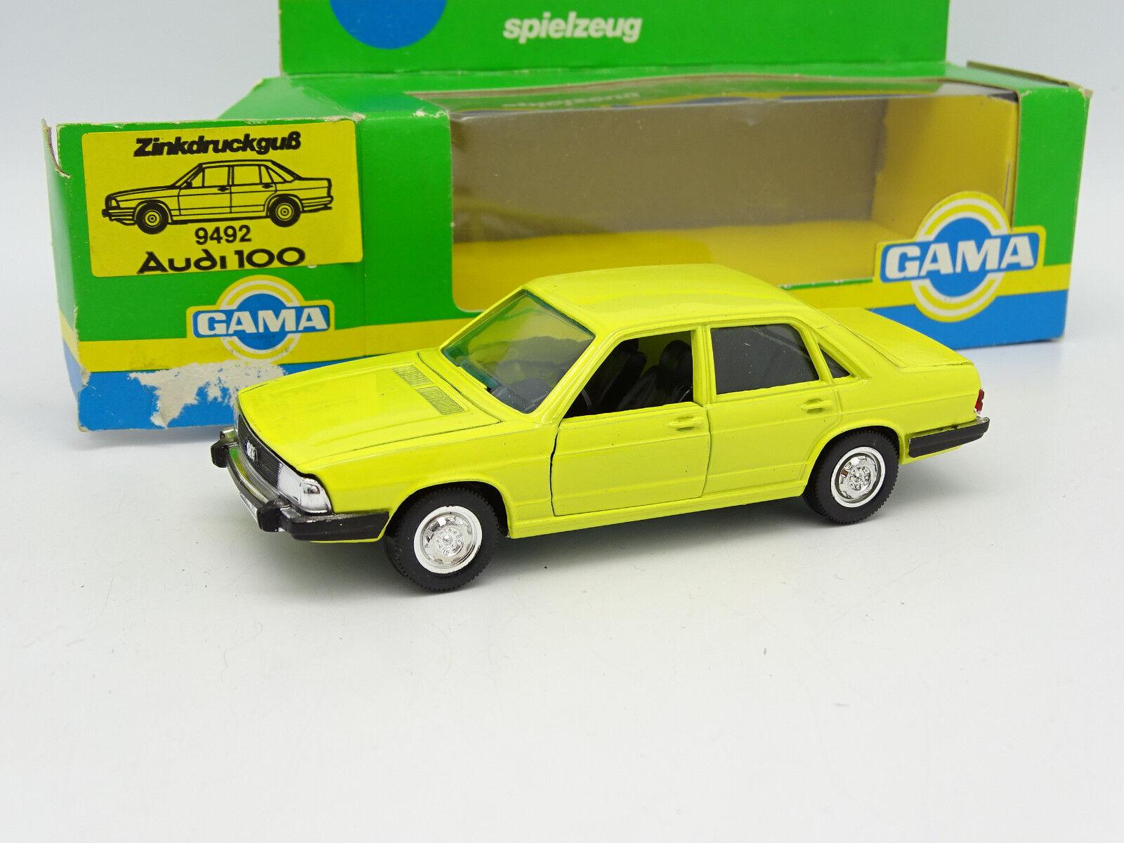 Gama Mini 1 43 43 43 - Audi 100 yellow B 8f0db7