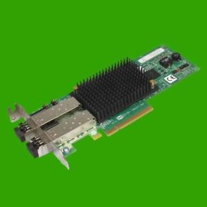 Emulex Dual FC Karte Fujitsu P002181-08A LPE12002 PCIex8 SFP Low Profile  FC-Tr.