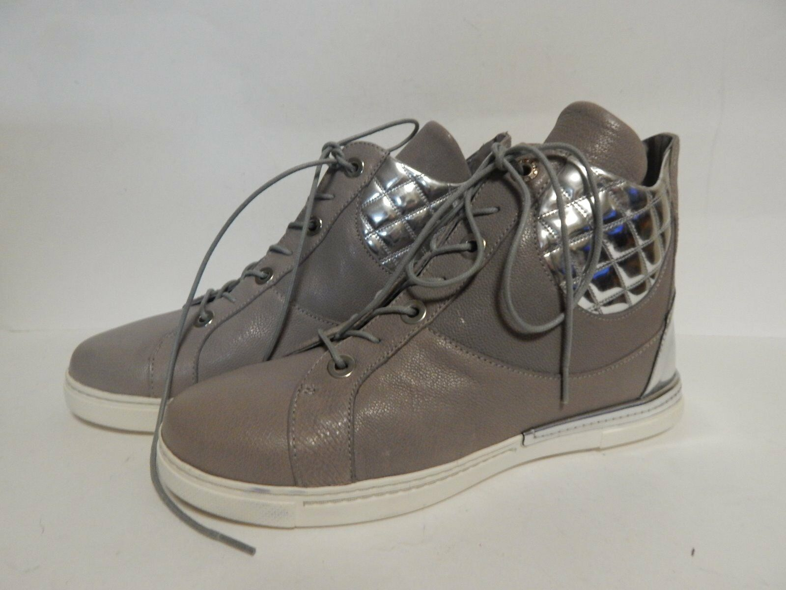 Stuart Weitzman Chairman High Top baskets  Stone Leather New with Box