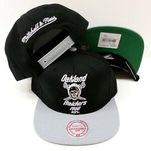 NFL Oakland Raiders Mitchell and Ness AFL Retro Vintage Snapback Cap ... ef0893201d5