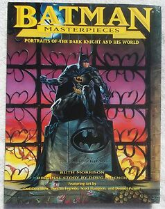 Batman-Masterpieces-Portraits-of-The-Dark-Knight-and-his-World-Hardcover-HC-art