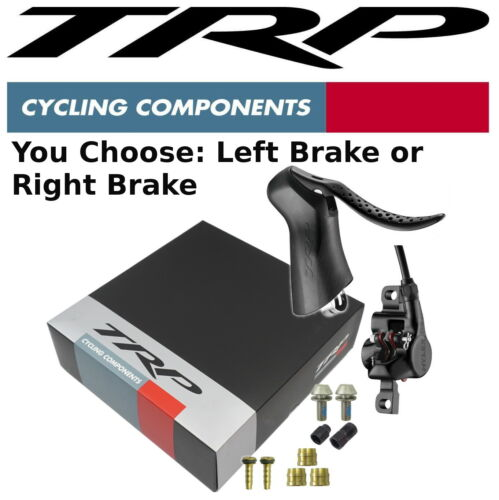 TRP Hylex RS Road Bike Front// Rear Hydraulic Disc Brake Calipers Post Mount