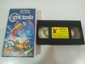 La-Cenicienta-Los-Clasicos-de-Walt-Disney-VHS-Cinta-Castellano