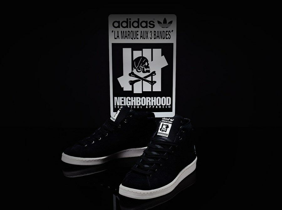 ADIDAS CONSORTIUM X UNDEFEATED X NEIGHBORHOOD OFFICIAL MID 80S NBHD undftd