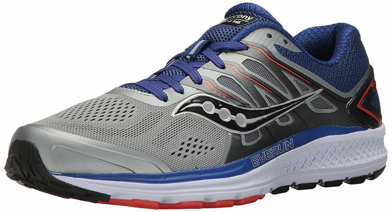 Nuevo En Caja Saucony Omni 16 Para hombres Zapatos para Correr EE. UU. M gris Naranja Azul Marino