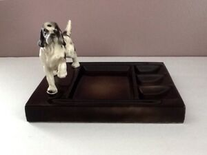 Details about VTG Hunting/Pointer/Setter Dog Dresser/Desk Valet/Caddy Hunt  Club By Swank Japan