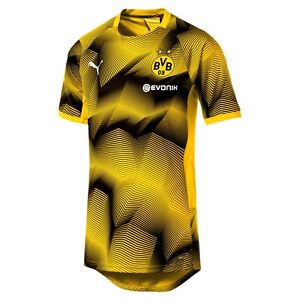 Puma BVB Borussia Dortmund 2018 - 2019 Elite Soccer Training Jersey ... 04e806566