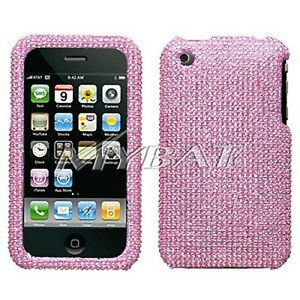 Pink-Crystal-Bling-Case-Cover-for-Apple-iPhone-3G-3GS