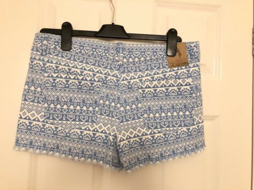 Ladies Size Brave Soul 42 Shorts 14 Bnwt Blue Eur large Uk dPtxcwgB5q