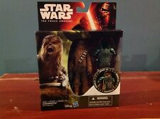 Disney Star Wars The Force Awakens Chewbacca Action Figure Armor Up Hasbro (ca5)