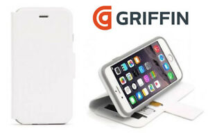 differently 769cb ba8a2 Details about Griffin iPhone 6/6S Plus White Wallet Case Cover - GB40896 NEW