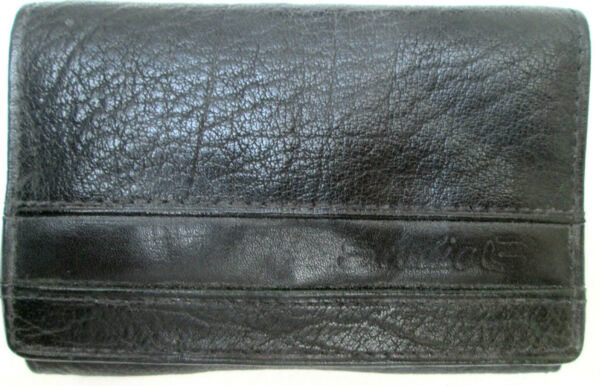 -authentique Portefeuille/porte-monnaie Studio Cuir Tbeg Vintage 60's