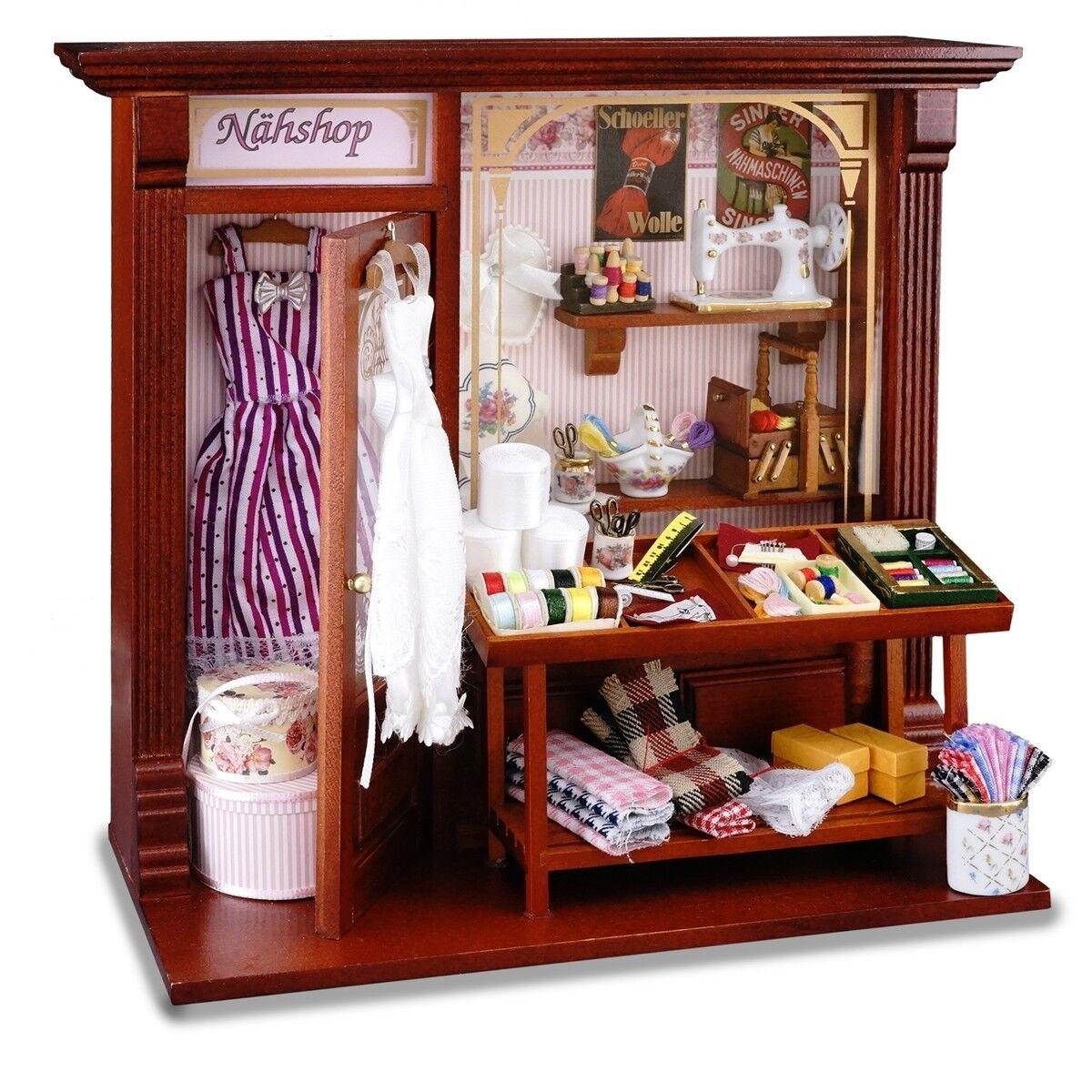 Reutter Porzellan Nähgeschäft Wandbild Sewing Shop Dollnstube 1 12 Art 1.794 6