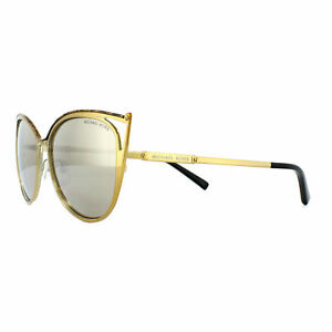 1aad2904c4f0 Michael Kors Sunglasses Ina 1020 11645A Gold Marble and Gold Bronze ...