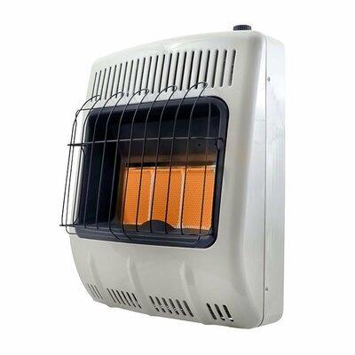 Mr. Heater 18000/30000 BTU Vent Free Radiant Propane Indoor Outdoor Space Heater