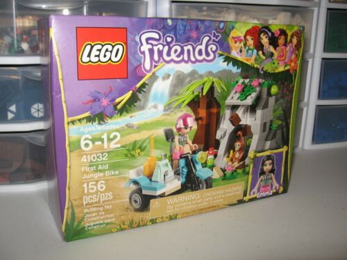 "LEGO RETIRED SET FRIENDS   /""FIRST AID JUNGLE BIKE/""   # 41032    NIB"