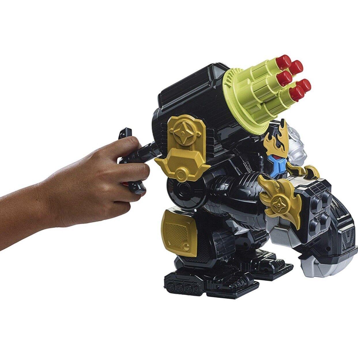 Power rangers super ninja stahl gorilla scharfschütze explosion zord-43485-boys spielzeug vorhanden