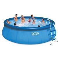 Intex 18' X 48 Inflatable Easy Set Above Ground Pool + 1500 Gph Pump | 28175eh