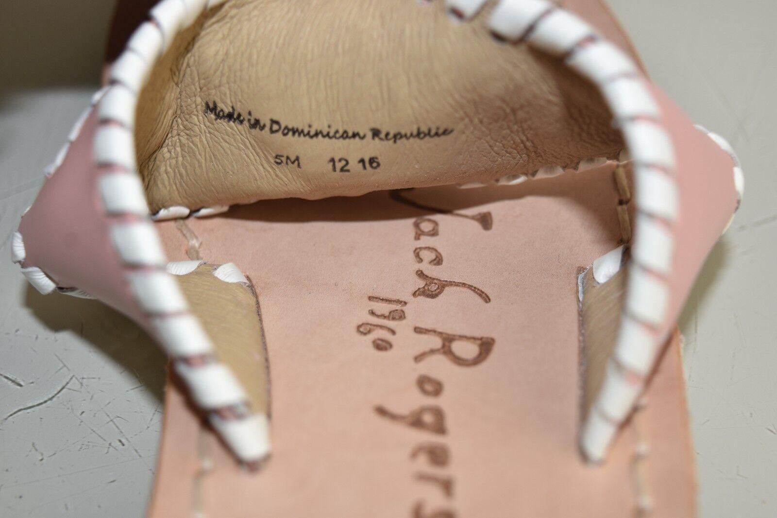 Neuf Jack Rogers Rogers Rogers  s Plates Joli en Pastel Rose Chair Pâle White 5 | être Nouvelle Dans La Conception  | La Conception Professionnelle  | Luxuriant Dans La Conception  | Digne  dbca27