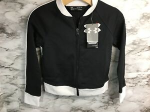 d6248f1b4c Details about Under Armour Girl's UA Track Jacket 1299933 Size Youth Small  NWT -B