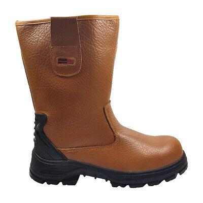 6e534738d2a Blackrock Fur Lined Rigger Boots Steel Toe Cap & Midsole Safety Work Wear  (SF01) | eBay