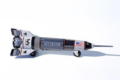 Rocket °° Jouet En Tôle °° PüNktlich Blechspielzeug Rakete Schwarz °° Tin Toy