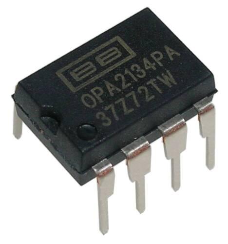 integrierte Schaltung im PDIP8 Gehäuse 1x OPA2134PAG4