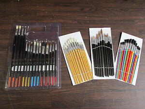 Artist-Paint-Brushes-Suit-Hobby-Craft-Warhammer-40k-Airfix-Models-Choice-Of-Sets