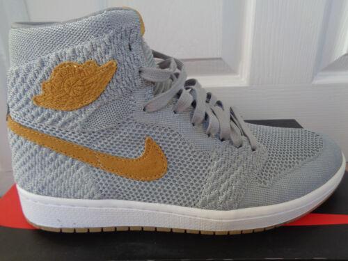 Nike Air Jordan 1 Retro Hi Flyknit Scarpe Da Ginnastica 919704 025 UK 7.5 EU 42 US 8.5 NUOVE