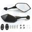 Rear-Side-Rearview-Mirrors-Pour-Yamaha-YZF600-YZF-R1-R6-R3-R125-R25-R15-2003-19 miniature 1