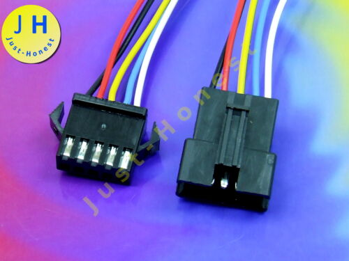 KIT presa SPINA 5 Poli//ways cablate Male Female Connector Wired #a913
