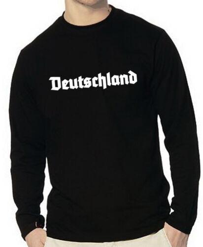 Longsleeve Deutschland GERMANY S bis XXL Gr