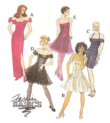 216 CLASSIC EVENING GOWNS PATTERN FOR FASHION DOLLS