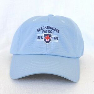 Image is loading BRECKENRIDGE-SKI-PATROL-COLORADO-Ball-cap-hat-IMPERIAL- bf9c3b45577