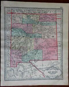 New-Mexico-or-Utah-and-Washington-1892-Tunison-double-sided-Map