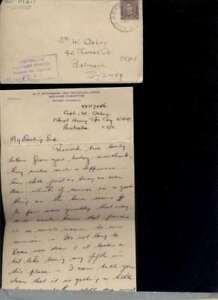 (82281 L) Austral. Timbres Papouasie-nouvelle Guinée 2. Wk Correspondance Tampon Ce-afficher Le Titre D'origine