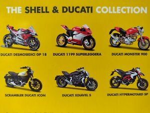 Variete-de-Collection-Moto-Moto-Ducati-Bburago-amp-Shell-DIECAST-1-18