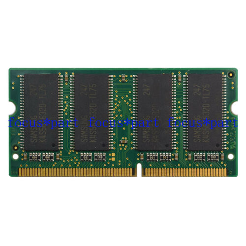 PC133 144PIN NON-ECC SDRAM Memory RAM SO DIMM 3.3V 1X256MB Samsung 256MB