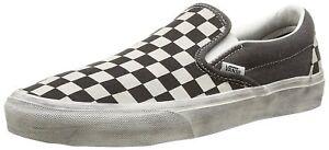 Shoes-Vans-Classic-Slip-on-Overwashed-Black-Checker-N-43-0-US-Men-10-0-cm-28-0