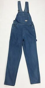 Vintage Boyfriend Fruit Jeans Salopette Bib Loom The Overalls 46 T1399 Of W32 Tg SBq8axS