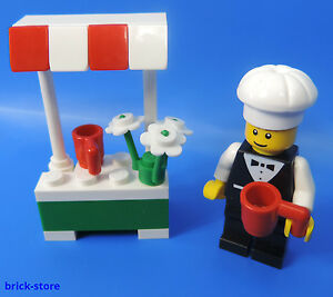 LEGO®  City 7687 / Italienischer Stand mit Koch Figur