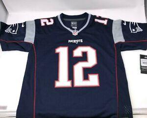 Tom-Brady-Nike-NFL-New-England-Patriots-Blue-Jersey-NWT-Youth-Kids-Size-XL