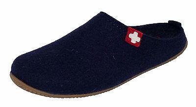 Living Kitzbühel 2486 600 Schweizer Kreuz Pantoffeln mit Fußbett Gr 36-47 Neu
