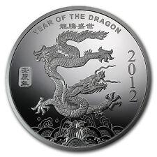 1 oz Year of the Dragon Silver Round .999 Fine