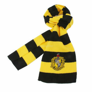 Harry-Potter-Hufflepuff-House-Cosplay-Knit-Wool-Costume-Scarf-Halloween-Costume