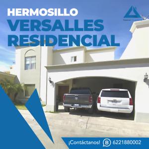 Casa en venta en Versalles Residencial Hermosillo