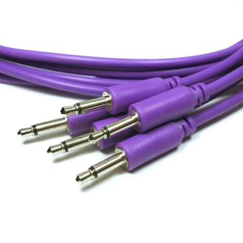 Eurorack Modular Patch Cables 3.5mm 10 colours//5 lengths Fast Delivery from UK