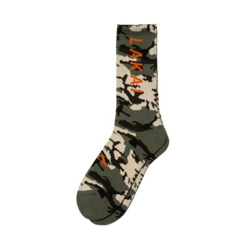 Lakai Simple Crew Sock Camo