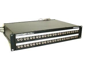 Audio Patch Panel : gentner pre wired patch panels versapatch 48 port audio patch panel 120 240vac ebay ~ Vivirlamusica.com Haus und Dekorationen